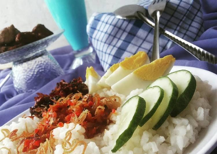 Resep: Nasi lemak khas riau yang bikin ketagihan