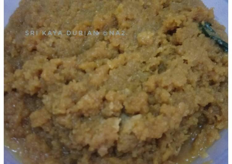 Resep: Sri kaya durian (isian timphan) yang menggoyang lidah