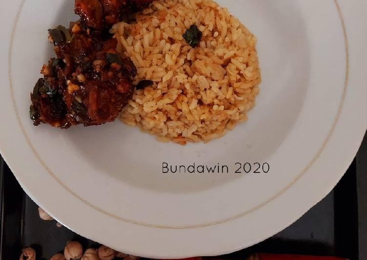 Resep: Nasi Minyak khas Palembang enak