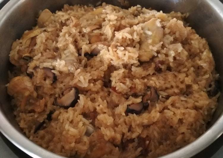 Resep: You fan(nasi minyak) Taiwan food enak