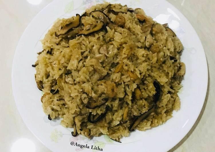 Resep: Nasi minyak,you fan #taiwan food yang bikin ketagihan