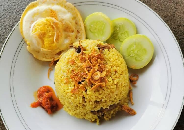 Nasi Minyak Rice Cooker