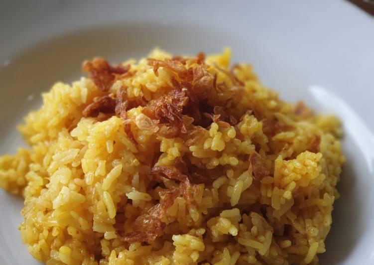 Resep: Nasi Minyak Rice Cooker yang menggugah selera