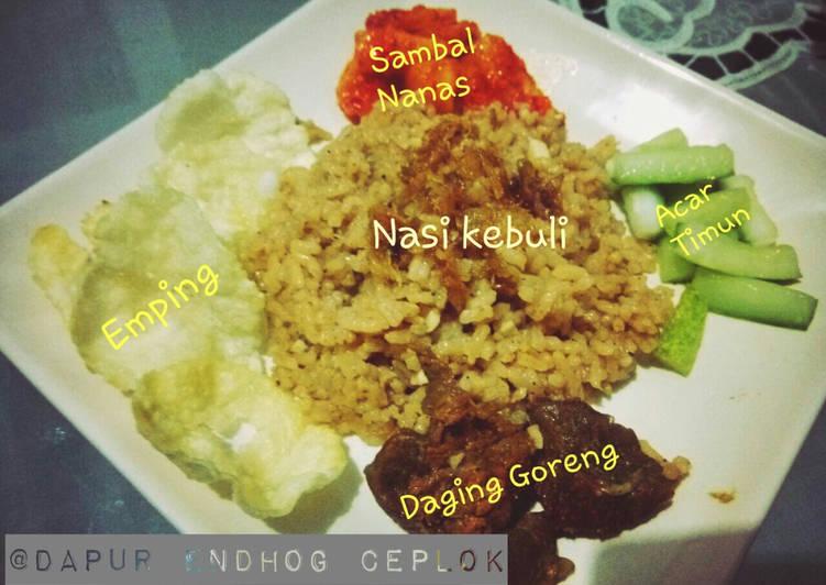 Resep: Nasi Minyak alias Nasi Kebuli istimewa