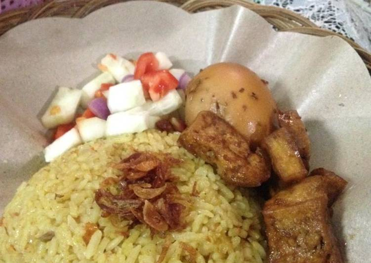Resep: Nasi Minyak Palembang ala rumahan lezat