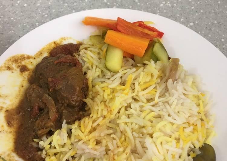 Resep memasak Nasi minyak #pr_BukanNasiBiasa yang menggugah selera