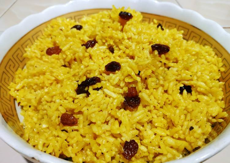 Resep: Nasi minyak / Samin bumbu kuning ala resto