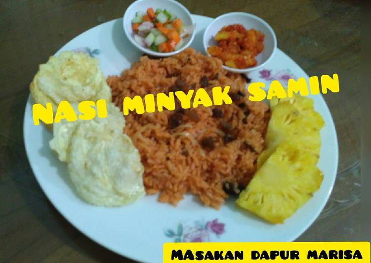 Resep: Nasi MINYAK SAMIN khas Palembang yang menggugah selera
