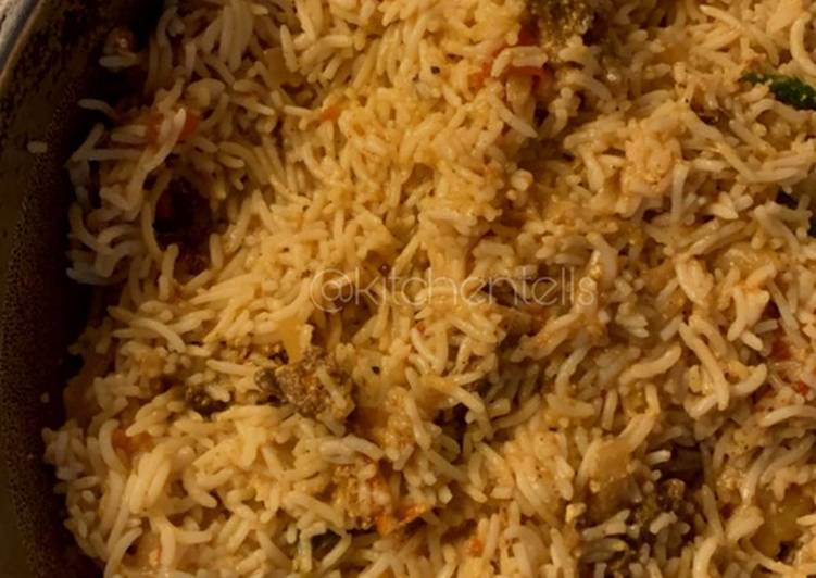Nasi Biryani khas Pakistan