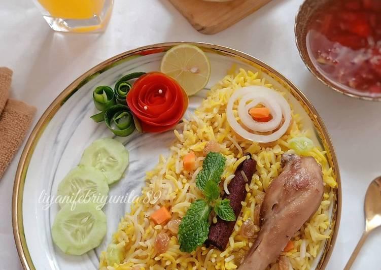 Nasi mandhi (رز مندي بالبسمتي)