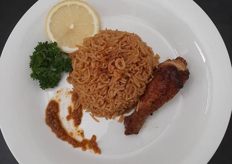 Cara Mudah mengolah Nasi kebuli rice cooker anti gagal yang menggugah selera