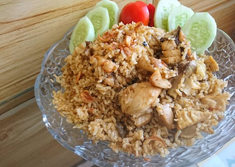 Resep memasak Nasi briyani ayam lezat