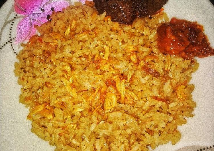 Resep memasak #14 Nasi Kebuli Daging Sapi yang menggugah selera