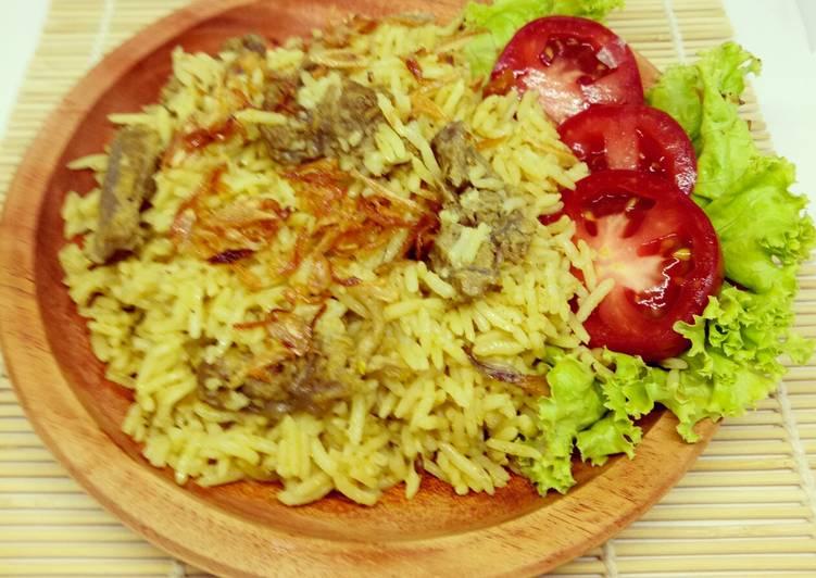 Nasi Kebuli D.Sapi