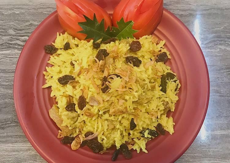 Nasi Kebuli Kari Kambing