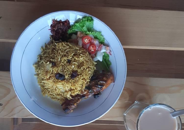 Resep: Nasi Kebuli Ayam ala Ma'e sedap