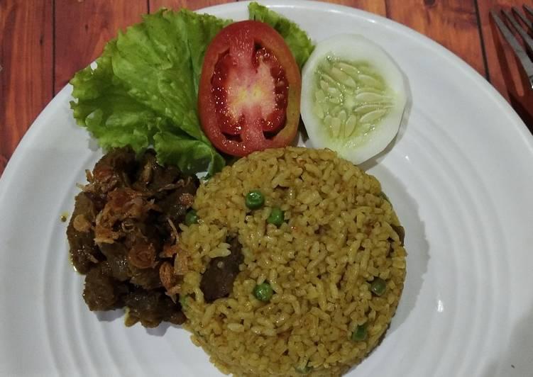 Resep memasak Nasi Goreng Kambing ala resto