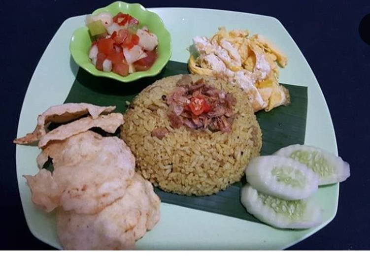 Nasi kebuli rice cooker