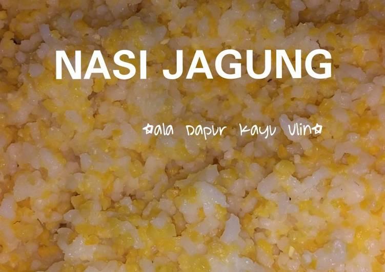 Resep: Nasi jagung(gurih) ala resto