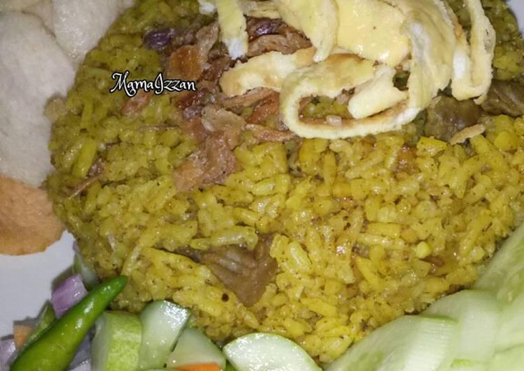Resep: Nasi Kebuli Daging Sapi (Magicom) yang menggugah selera