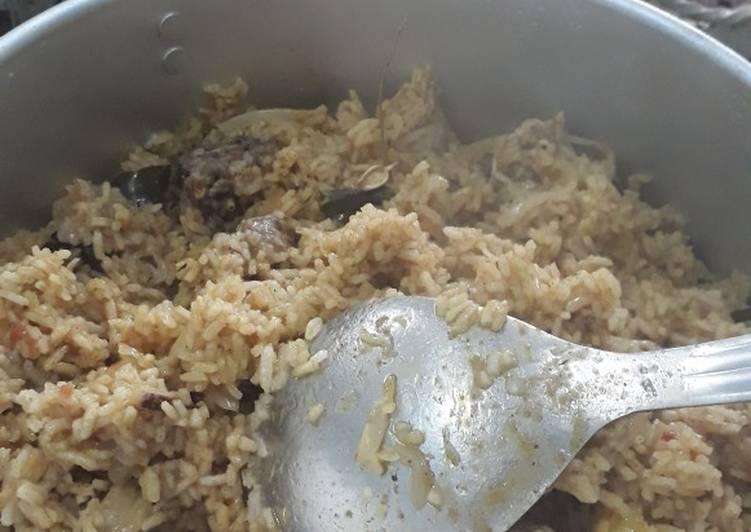 Resep: Nasi kebuli yang menggugah selera