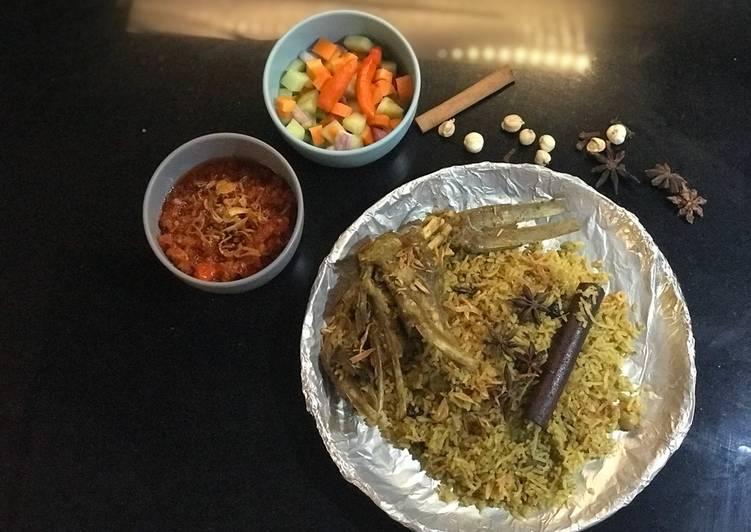 Resep: Nasi Kebuli atau nasi mandhi ala resto