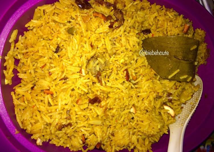 Cara Mudah membuat Nasi Briyani #bikinramadanberkesan #day5 #seninsemangat yang bikin ketagihan