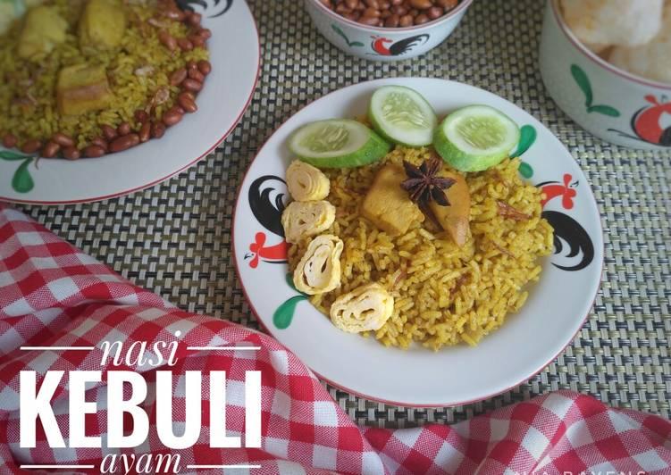 Cara Mudah mengolah Nasi kebuli daging ayam magicom (#pr_BukanNasiBiasa) enak