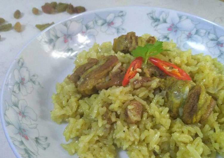 Resep mengolah Nasi Kebuli Kuwait ala resto