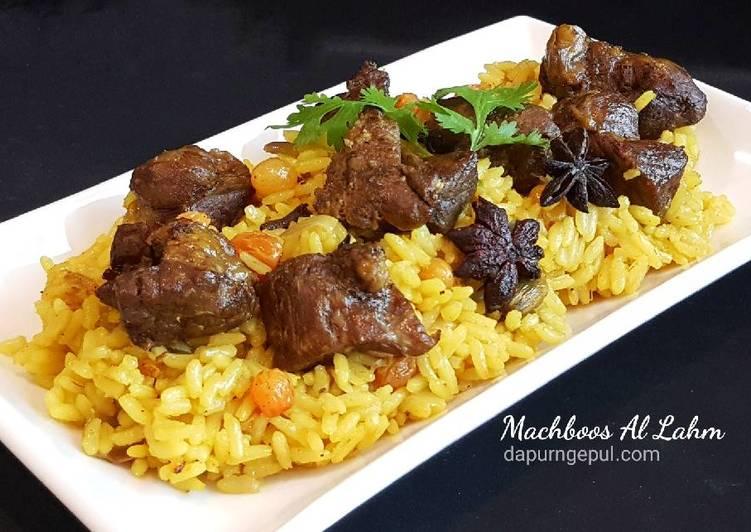 Resep: Nasi kebuli kambing khas Kuwait (Machboos Al Lahm) enak