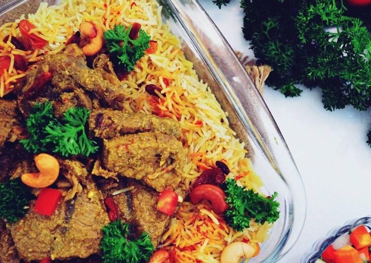 Resep memasak Nasi Briyani Simple Ala Mamah Mumtaz ala resto
