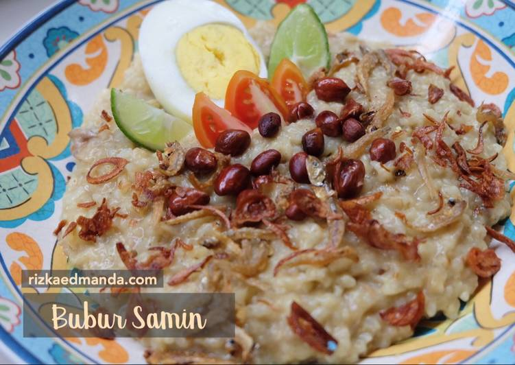 Bubur Samin (Khas Arab+Banjar)