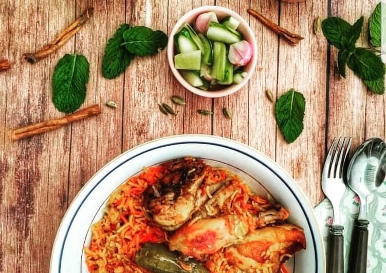 Resep: Nasi Briyani yang menggugah selera