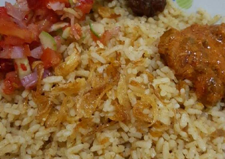 Resep: Nasi Kebuli Kambing yang bikin ketagihan