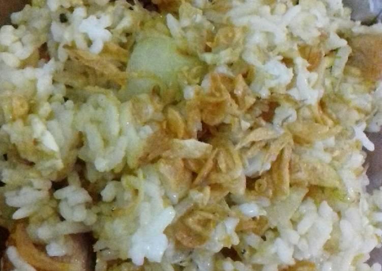 Resep: Nasi goreng otak-otak ikan dan tri medan lezat