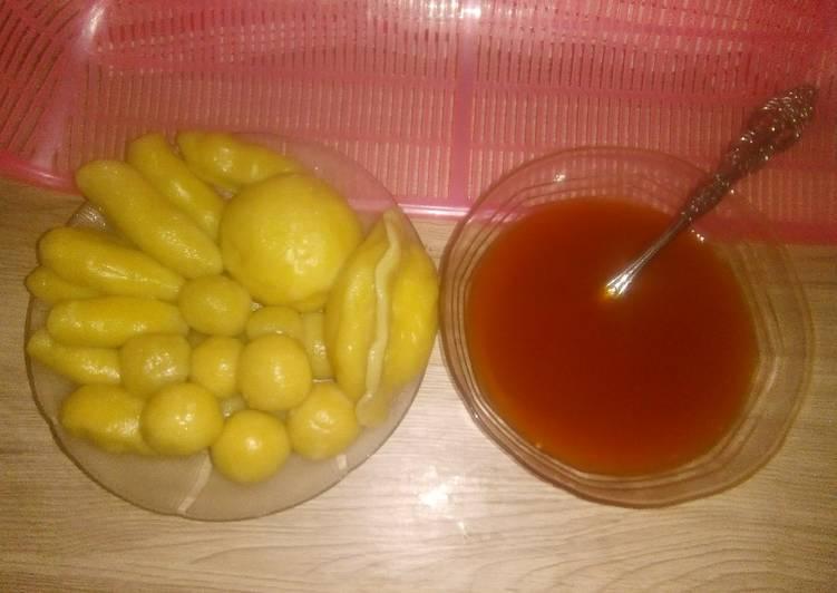 Resep: Empek-empek bawang putih lezat