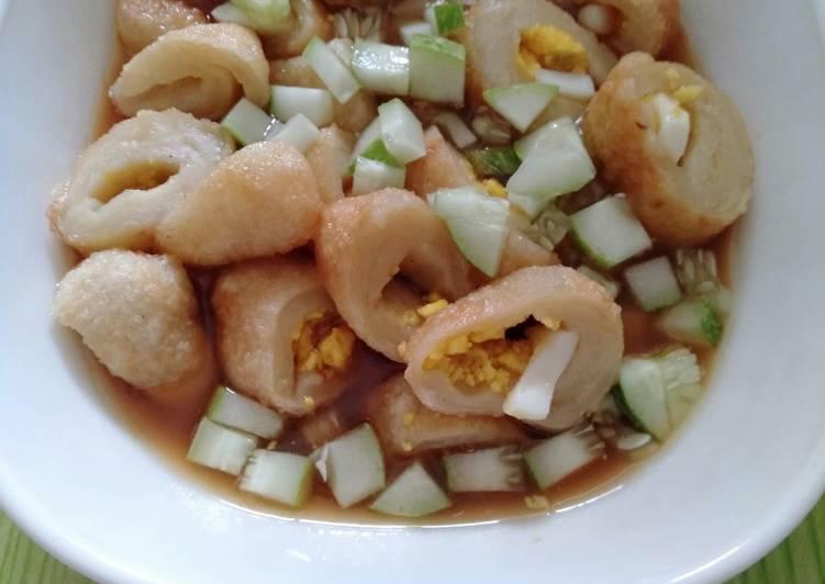 Resep memasak Mpek mpek tanpa ikan yang menggugah selera