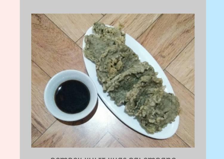 Resep: Pempek kulit khas palembang sedap