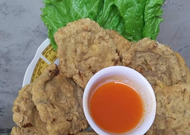 Resep: Pempek kulit ikan crispy kriuk kriuk yang menggugah selera
