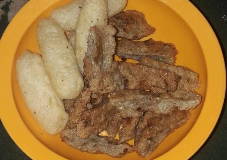Resep: Pempek kulit crispy ala resto
