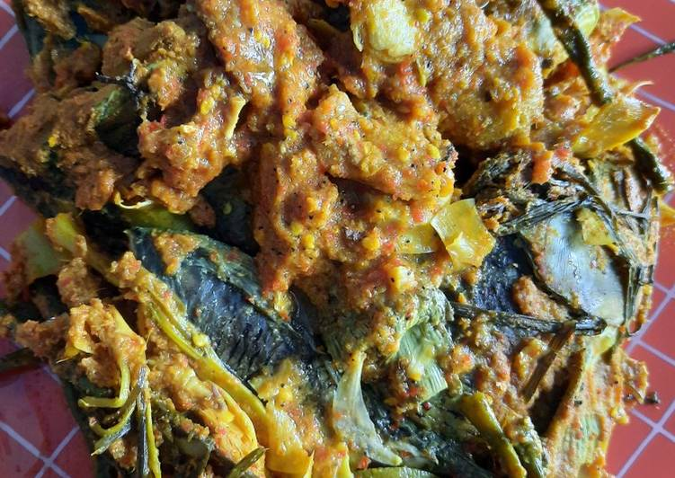 Resep: Arsik Ikan Mas yang menggugah selera
