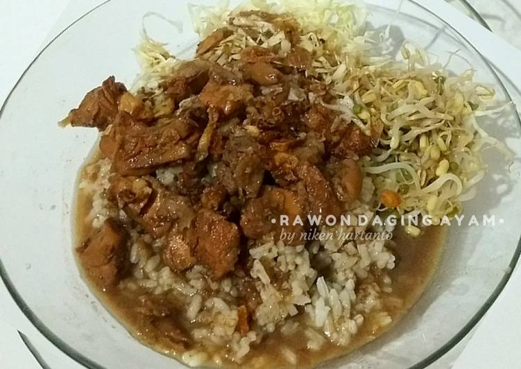 Rawon daging ayam