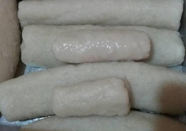 Cara Mudah memasak Pempek lenjer ikan enak