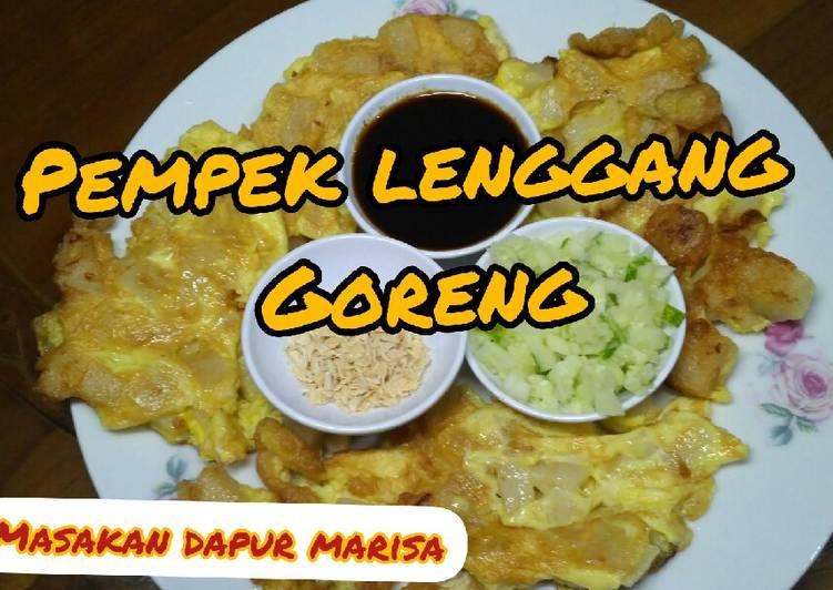 Resep PEMPEK LENGGANG GORENG PALEMBANG