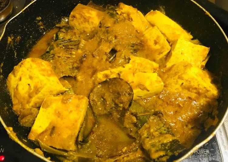 Resep memasak Arsik Ikan Tilapia dan Tahu ala resto