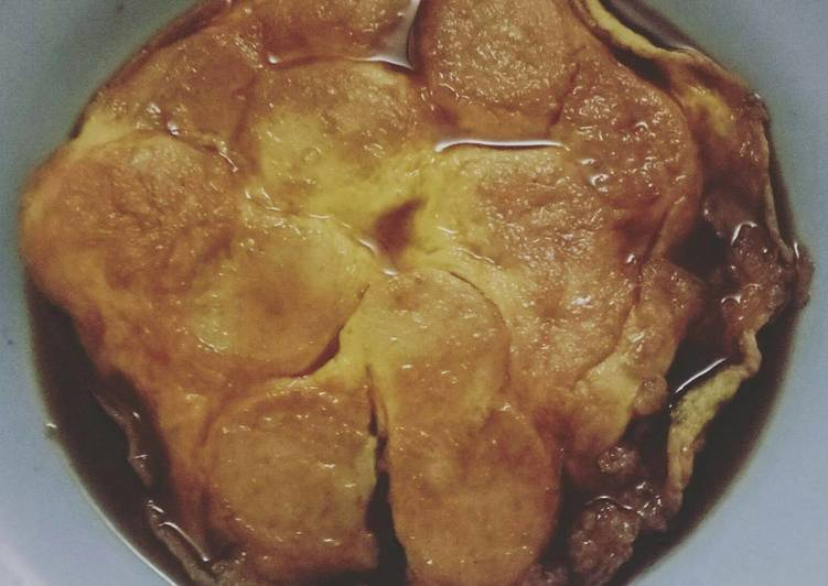 Resep memasak Pempek lenggang simple lezat