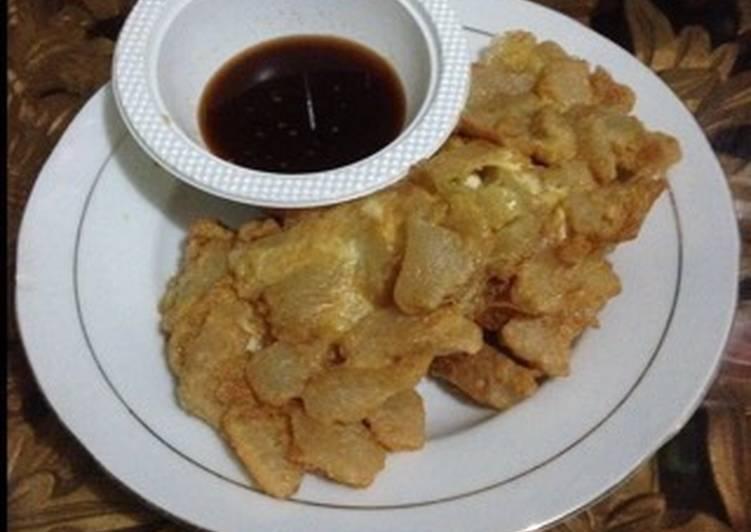 Resep mengolah Pempek lenggang Palembang lezat
