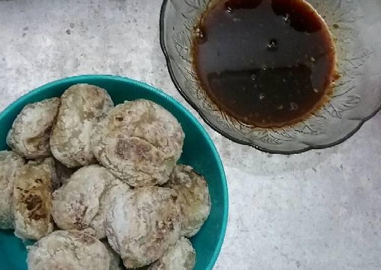 Resep: Pempek tunu & cuko palembang no ikan enak