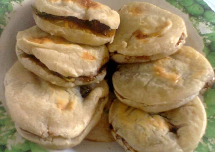 Resep membuat Pempek panggang teflon / double pan enak