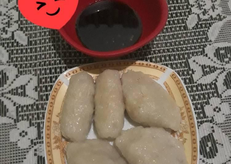 Resep: Pempek telur dan pempek lenjer lezat